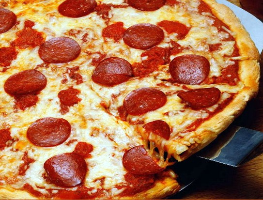 Delicious Baked Pizza